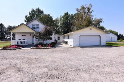 Rigby Single Family Home For Sale: 3249 E County Line Road