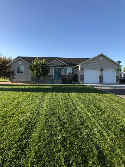 Rigby Single Family Home For Sale: 3935 E 172 N