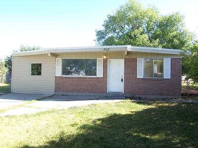 Idaho Falls Single Family Home For Sale: 215 N Monte Vista Avenue