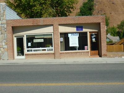 Custer County Commercial For Sale: 418 E Main Street