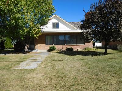 Shelley Single Family Home For Sale: 401 E Center Street