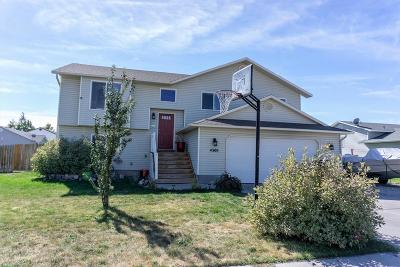 Ammon Single Family Home For Sale: 4300 Frontier Drive
