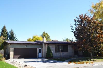 Blackfoot Single Family Home For Sale: 465 Horrocks Drive