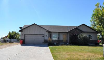 Rigby Single Family Home For Sale: 3892 E Cox Lane