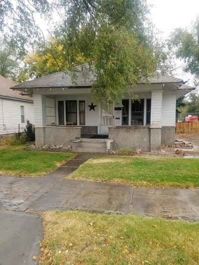 Idaho Falls ID Single Family Home For Sale: $150,000