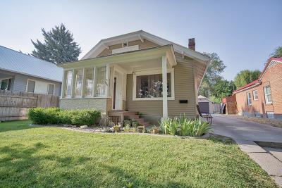 Idaho Falls ID Single Family Home For Sale: $135,000