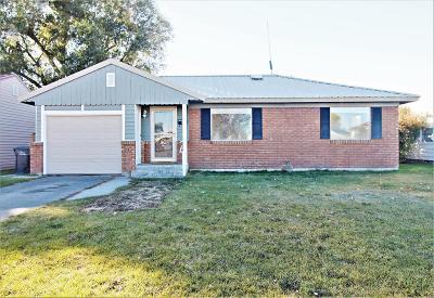 Idaho Falls ID Single Family Home For Sale: $125,000
