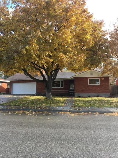 Idaho Falls Single Family Home For Sale: 305 Barlow Drive