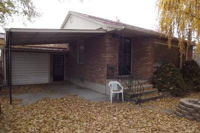 Pocatello Single Family Home For Sale: 687 Willard Avenue