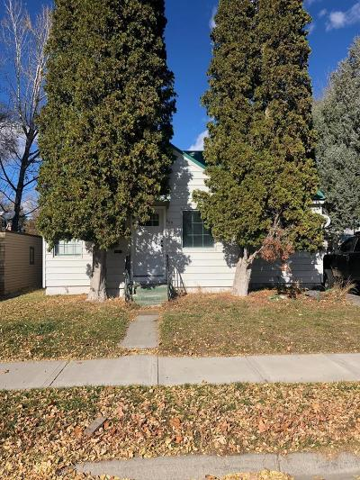 Idaho Falls Single Family Home For Sale: 469 3rd Street
