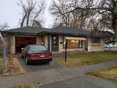Idaho Falls ID Single Family Home For Sale: $144,500
