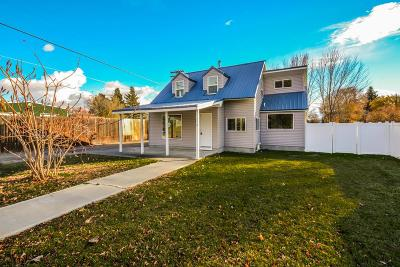 Shelley Single Family Home For Sale: 250 W Center Street
