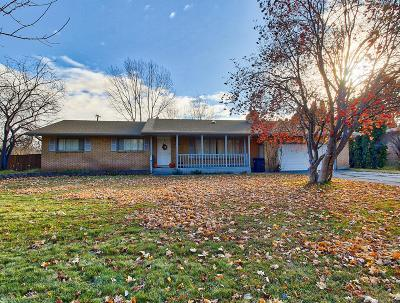 Idaho Falls Single Family Home For Sale: 1855 S Sabin Drive