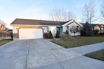 Ammon Single Family Home For Sale: 3765 Stonehaven Drive