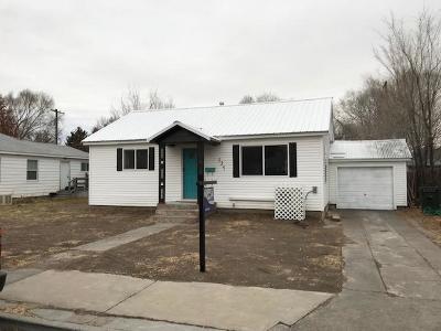 Blackfoot Single Family Home For Sale: 337 Dewey Street