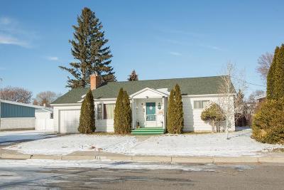 Blackfoot Single Family Home For Sale: 641 Teton Avenue