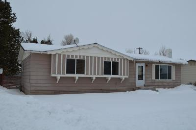Fremont County Single Family Home For Sale: 525 W Targhee Street