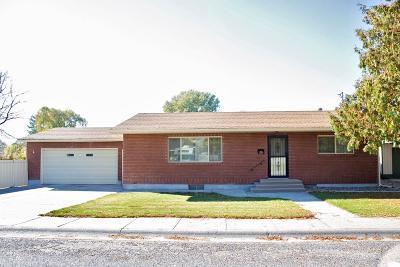 Blackfoot Single Family Home For Sale: 455 N Spruce Street