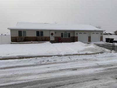 Ammon Single Family Home For Sale: 3022 Brettonwood Drive