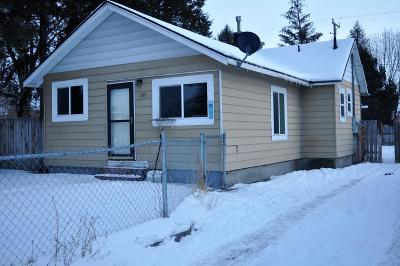 Idaho Falls ID Single Family Home For Sale: $122,500