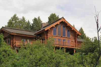 Teton County Single Family Home For Sale: 3271 Canyon Crest Drive