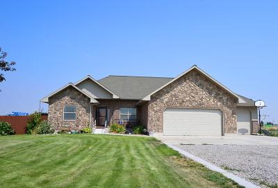 Shelley Single Family Home For Sale: 882 E 1000 N