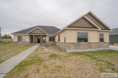 Idaho Falls Single Family Home For Sale: 2815 Spring Gulch Road