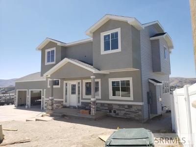 Pocatello Single Family Home For Sale: 411 Andesite Drive