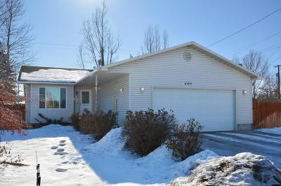 Idaho Falls Single Family Home For Sale: 540 E 15th Street