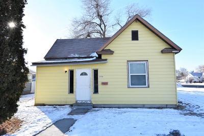 Shelley Single Family Home For Sale: 208 E Locust