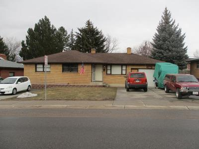 Pocatello Single Family Home For Sale: 1706 E Terry Street