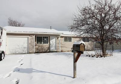 Pocatello Single Family Home For Sale: 3880 Sandpiper Drive