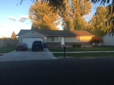 Idaho Falls Single Family Home For Sale: 2934 N Bliss Drive