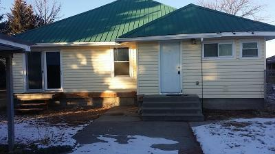 Blackfoot Single Family Home For Sale: 4 S 1000 W