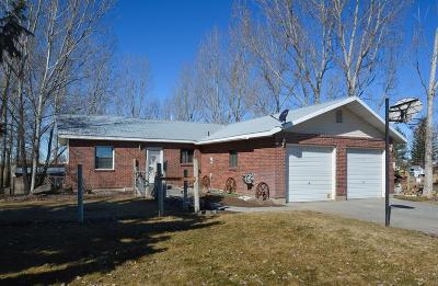 Shelley Single Family Home For Sale: 1384 N 1200 E