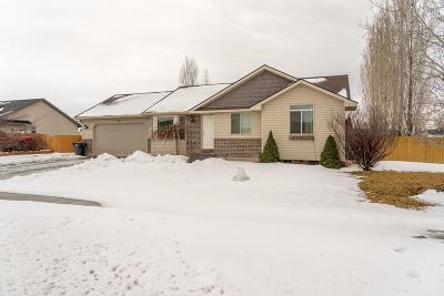 Idaho Falls Single Family Home For Sale: 3558 Hyrum Drive