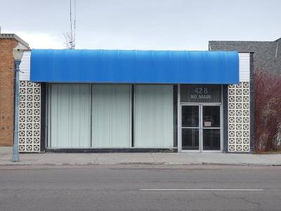 Bannock County, Bonneville County, Bingham County, Jefferson County, Madison County, Fremont County, Bear Lake County, Custer County, Power County, Teton County Commercial For Sale: 428 N Main Street