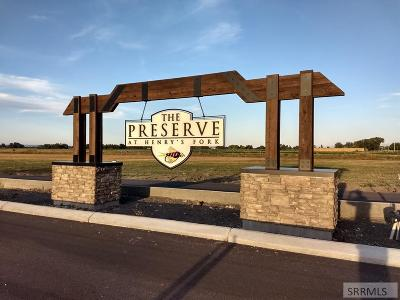 Rexburg Residential Lots & Land For Sale: 3610 Henry's Fork Way