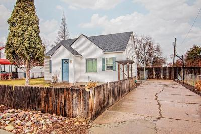 Bannock County Single Family Home For Sale: 654 W Pine Street
