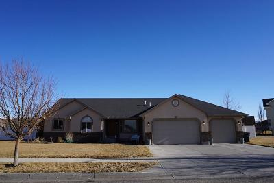 Ammon Single Family Home For Sale: 3622 E Clearfield Lane