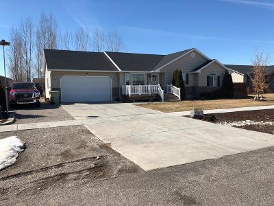 Idaho Falls Single Family Home For Sale: 2191 N Edmiston Drive