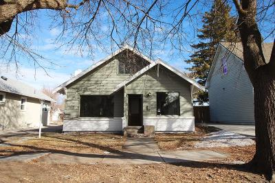 Idaho Falls Single Family Home For Sale: 275 5th Street