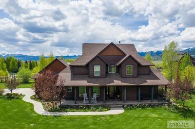 Teton County Single Family Home For Sale: 3770 Adams Road