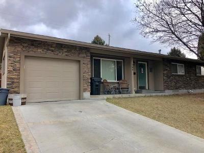 Bonneville County Single Family Home For Sale: 720 Stimson Avenue