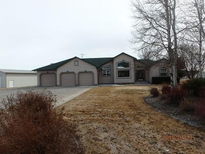 Bonneville County Single Family Home For Sale: 4870 Wind River Drive