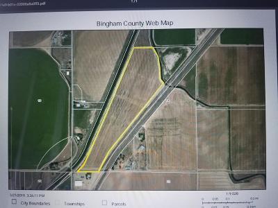 Bannock County, Bonneville County, Bingham County, Jefferson County, Madison County, Fremont County, Bear Lake County, Custer County, Power County, Teton County Farm For Sale: 1350 Apx W Hwy 39