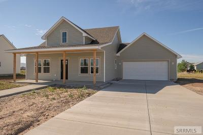 Idaho Falls Single Family Home For Sale: 4356 E Booner Street