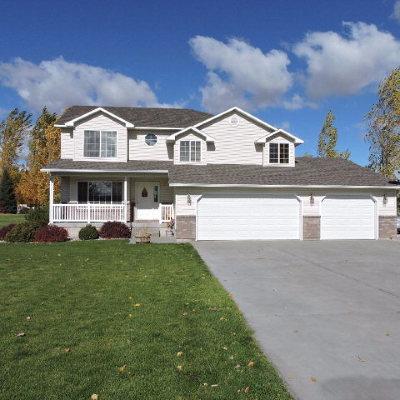 Shelley Single Family Home For Sale: 846 E 1425 N