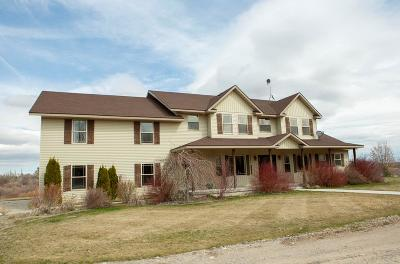 Blackfoot Single Family Home For Sale: 1054 W Ferry Butte Road