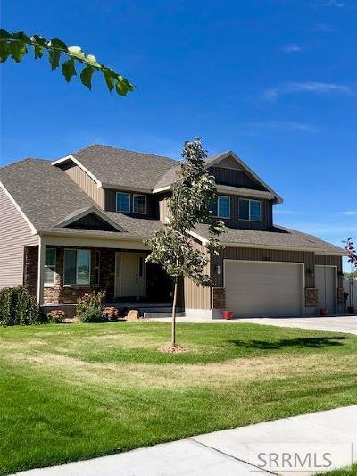 Bonneville County Single Family Home For Sale: 1275 Robins Avenue